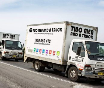 Two Men an a Truck